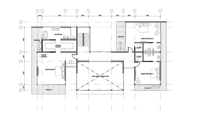 Beach house thailand dymitr malcew for House floor plans com