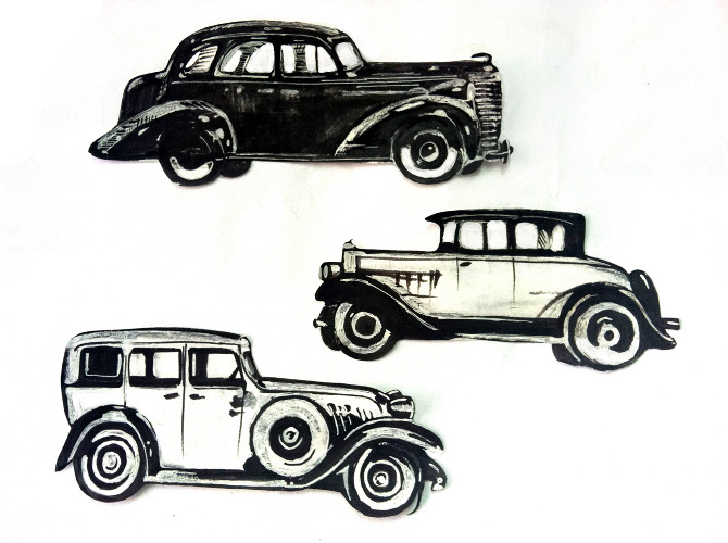 1920s Cars Drawing 1920s Car Drawing Clipart
