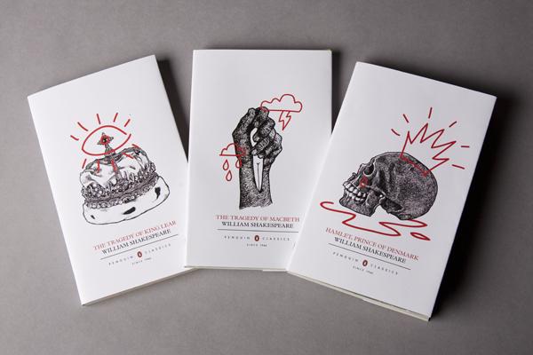 Shakespeare Book Covers - Niamh Richardson